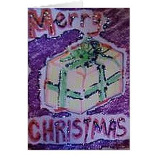 MERRY CHRISTMAS FROM RAINE CARD