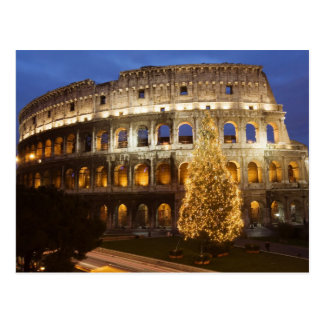 Merry Christmas from Rome Postcard