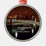 Merry Christmas from San Diego, California Ornament