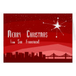 Merry Christmas From San Francsico Cards