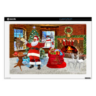 Merry Christmas from Santa Laptop Decal