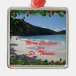 Merry Christmas from St. Thomas Christmas Tree Ornament