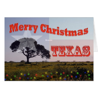Merry Christmas from Texas Card