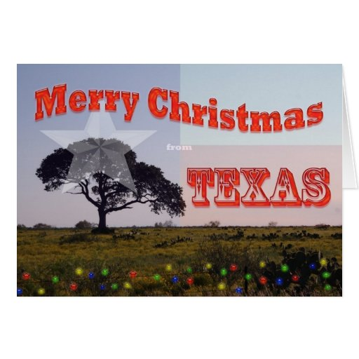 Merry Christmas from Texas Cards