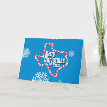 Merry Christmas from Texas Holiday Card