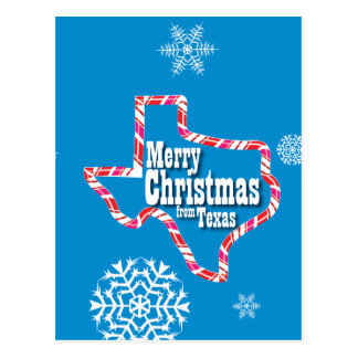 Merry Christmas from Texas Post Card