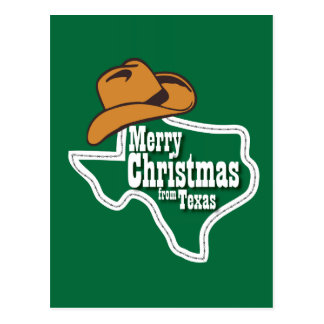 Merry Christmas from Texas Post Cards