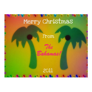 Merry Christmas from The Bahamas! Postcard