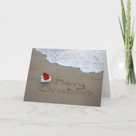 merry christmas from the beach holiday card - Merry Christmas Beach