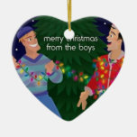 Merry Christmas From The Boys Ornament