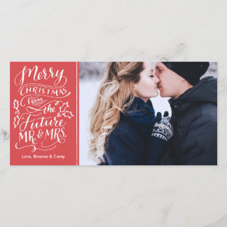 Merry Christmas From The Future Mr. and Mrs. Holiday Card