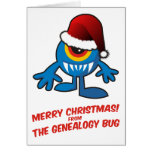 Merry Christmas! From The Genealogy Bug Greeting Cards