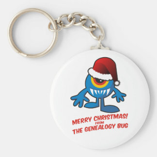 Merry Christmas! From The Genealogy Bug Keychain