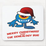 Merry Christmas! From The Genealogy Bug Mouse Pad