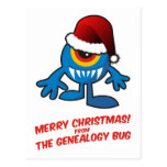 Merry Christmas! From The Genealogy Bug Postcards