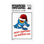 Merry Christmas! From The Genealogy Bug Stamp