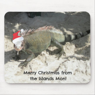 Merry Christmas from the Islands Mon! Mouse Pad