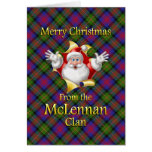 Merry Christmas From the McLennan Clan Greeting Card