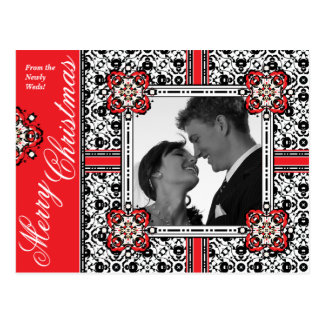 Merry Christmas from the Newly Weds Postcards