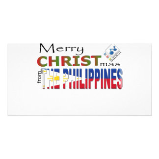 Merry Christmas From the Philippines Photo Card
