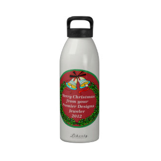 Merry Christmas from Your Premier Designs Jeweler Reusable Water Bottle