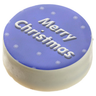 Merry Christmas Frosty 3D Chocolate Covered Oreo
