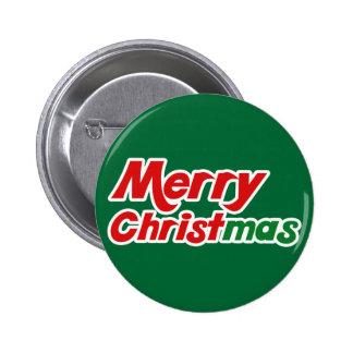 Merry Christmas Fun Flair Christian Buttons