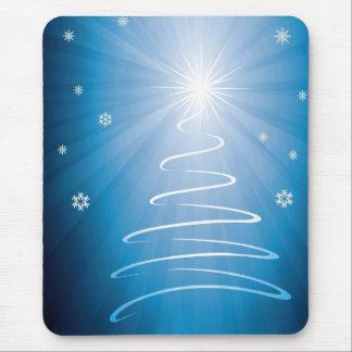 Merry Christmas Funky Christmas Tree Mouse Pad