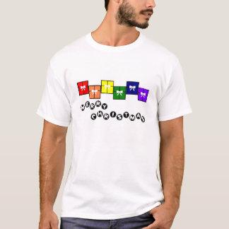 Merry Christmas Gay Pride T-Shirt