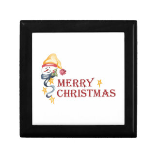 Merry Christmas Jewelry Boxes