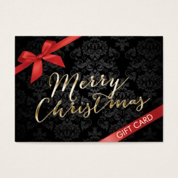 Christmas Themed Merry Christmas Gift Certificates