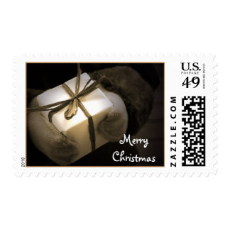 Merry Christmas - Gift - Postage Stamp
