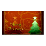 Merry Christmas Gift Tag Business Card Templates