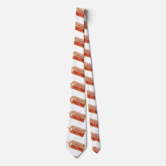 Merry Christmas Gift Tag Neck Tie