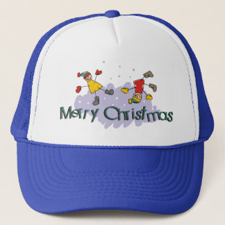 Merry Christmas Gift Trucker Hat