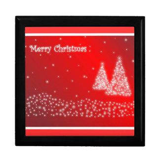 Merry Christmas Giftbox Jewelry Box