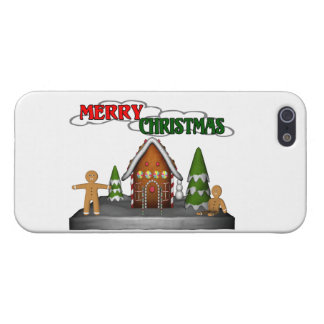 Merry Christmas Gingerbread Scene iPhone SE/5/5s Cover