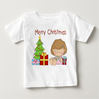 Merry Christmas Girl Infant T-Shirt