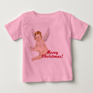 Merry Christmas, glad Christmas, fishing rod Baby T-Shirt