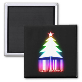 Merry Christmas - Glowing Christmas Tree Magnet