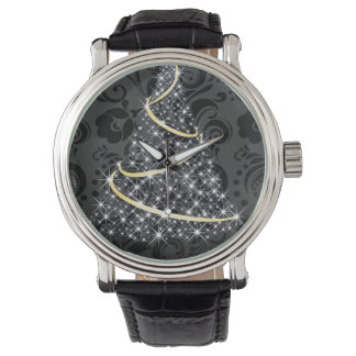 Merry Christmas Glowing Tree Watch