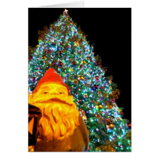 Merry Christmas Gnome Greeting Card