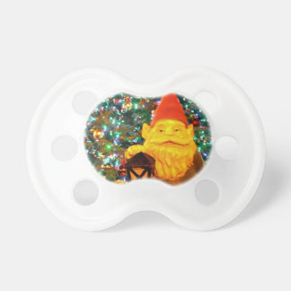 Merry Christmas Gnome Pacifier