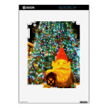 Merry Christmas Gnome Skins For The iPad 2