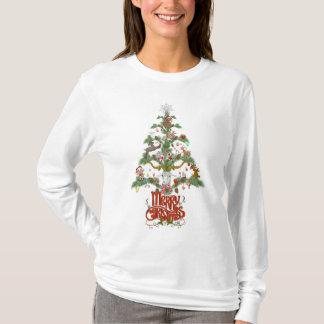 Merry Christmas GOAT LOVER'S GIFT Christmas TREE T-Shirt