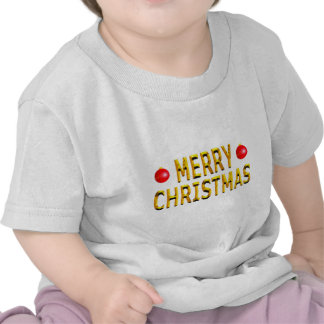 Merry Christmas Gold Shirts