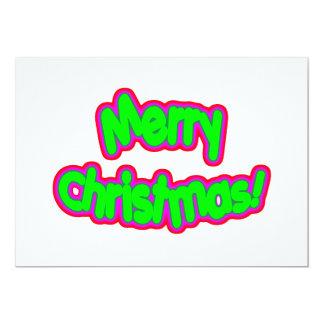 Merry Christmas Gr Mag Card