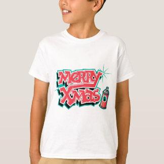 Merry Christmas Graffiti T-Shirt