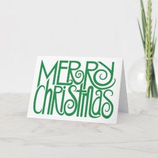 Merry Christmas Green Card