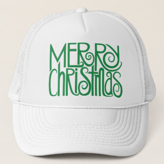 Merry Christmas green Hat